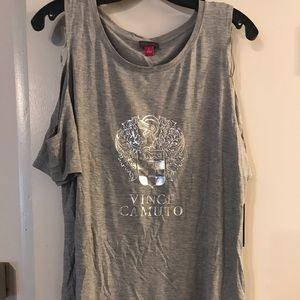 New with Tags! VINCE CAMUTO COLD SHOULDER TOP